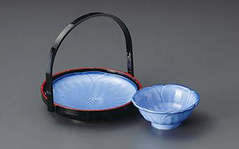 天ぷら皿・呑水 Tempura Plate Tonsui Bowl