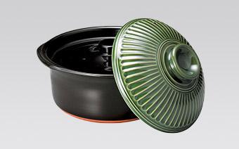 炊飯調理鍋・陶板・コンロ 土鍋小・蓋付陶板(耐熱)・柳川鍋 耐熱食器・セイロ Rice Cooker Grilling Plate Grilling Stove Pot Japanese Loach And Egg Hot Pot Ovenware Steamer