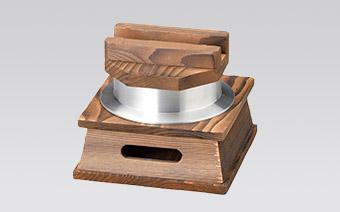 陶板(耐熱)・アルミ鍋・敷板・箸箱 Grilling Plate Aluminum Pot Board Chopstick Case