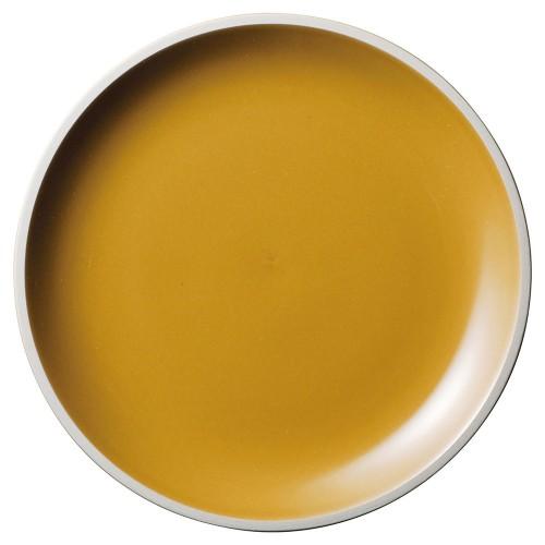 01502-210 ルストアンバー23cmプレート|業務用食器カタログ陶里30号