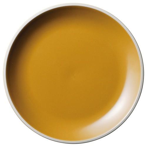 01503-210 ルストアンバー19.5cmプレート|業務用食器カタログ陶里30号