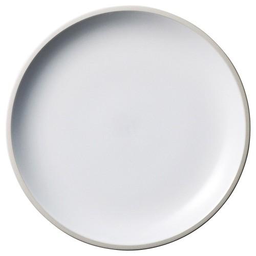 01505-210 ルストマイルドホワイト23cmプレート|業務用食器カタログ陶里30号