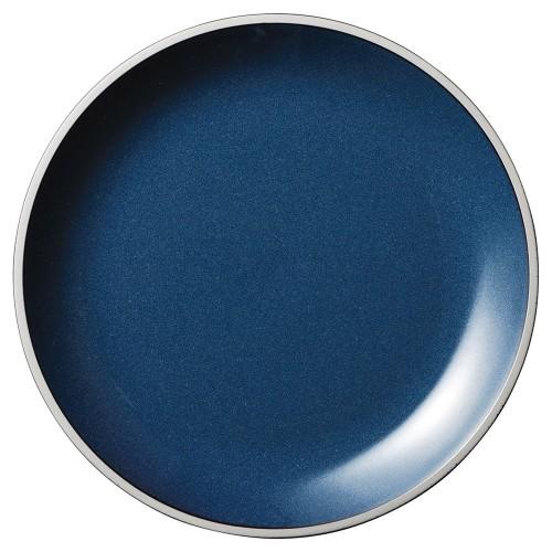 01509-210 ルストモードブルー19.5cmプレート|業務用食器カタログ陶里30号