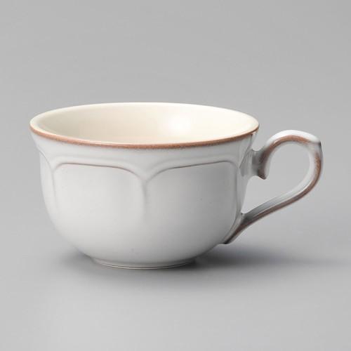 01601-210 ラフィネ スモークホワイトティーカップ|業務用食器カタログ陶里30号