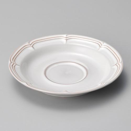 01602-210 ラフィネ スモークホワイト兼用ソーサー|業務用食器カタログ陶里30号