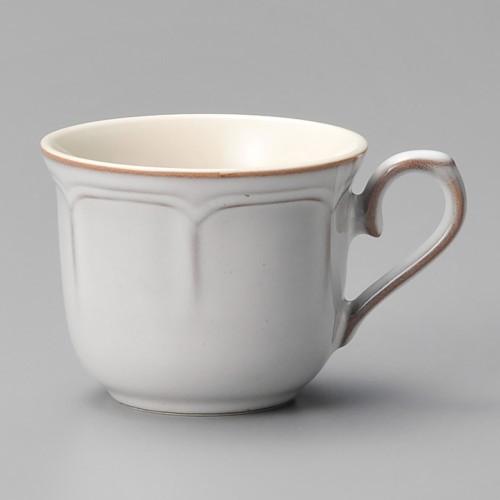 01605-210 ラフィネ スモークホワイトコーヒーカップ|業務用食器カタログ陶里30号