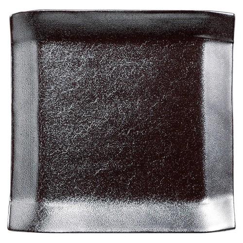02103-100 こより(シルバ-&パ-ル)正角中皿(シルバ-)|業務用食器カタログ陶里30号