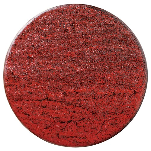 02203-100 岩肌シリ-ズ(紅柚子、白御影、白)丸24cm皿(紅柚子)|業務用食器カタログ陶里30号
