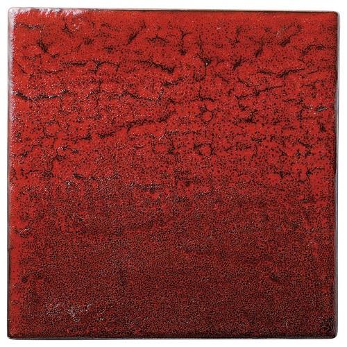 02208-100 岩肌シリ-ズ(紅柚子、白御影、白)正角24cm皿(紅柚子)|業務用食器カタログ陶里30号