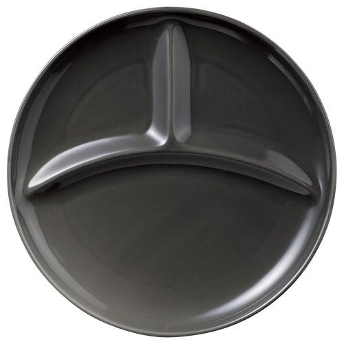 02506-080 カフェズグレ-丸型ランチプレ-ト|業務用食器カタログ陶里30号