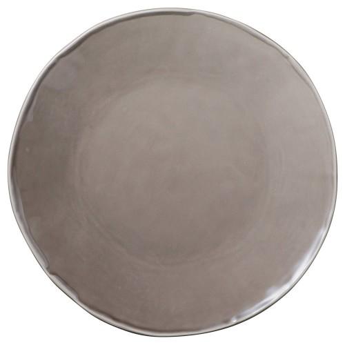 02516-080 カフェズベ-ジュいっぷく丸皿L|業務用食器カタログ陶里30号