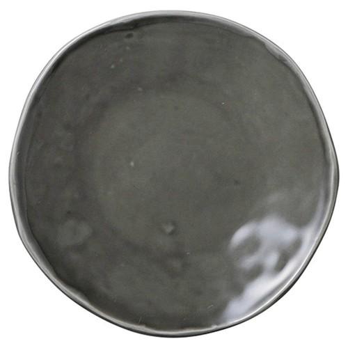 02521-080 カフェズグレ-いっぷく丸皿S|業務用食器カタログ陶里30号