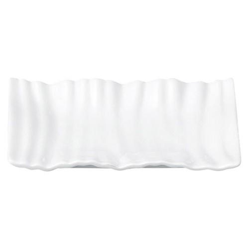 03801-110 ウェ-ブ13cm長角皿|業務用食器カタログ陶里30号