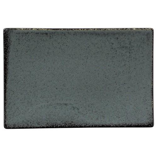 04408-110 緑窯変釉21cm長角皿|業務用食器カタログ陶里30号