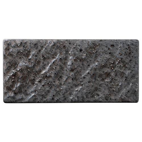 06513-460 金結晶石肌長角23cm皿|業務用食器カタログ陶里30号