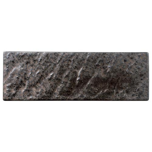 06514-460 金結晶石肌長角36cm皿|業務用食器カタログ陶里30号