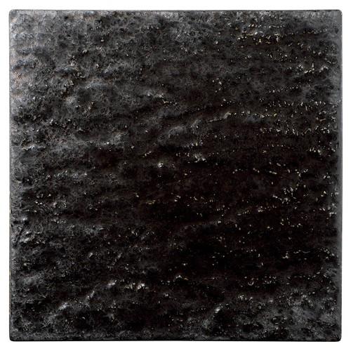 06518-460 金結晶石肌正角24cm皿|業務用食器カタログ陶里30号