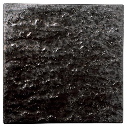06519-460 金結晶石肌正角27cm皿|業務用食器カタログ陶里30号