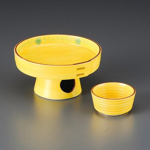 06711-180 三方型高台刺身鉢|業務用食器カタログ陶里30号