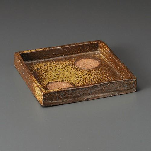 08509-180 備前風正角切立鉢 業務用食器カタログ陶里30号