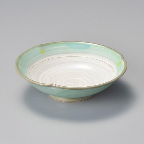 09817-180 新緑(土物)平向付|業務用食器カタログ陶里30号