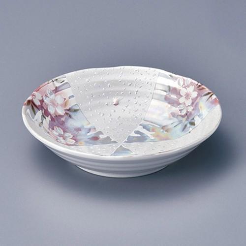 11310-380 オーロラ 間取桜5.5浅鉢|業務用食器カタログ陶里30号