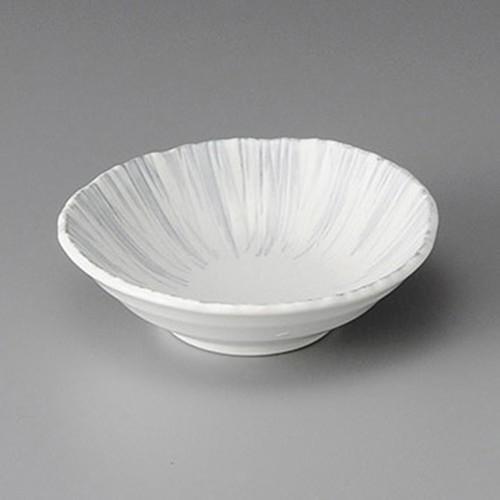 11312-010 白さざれ彫5.0取鉢|業務用食器カタログ陶里30号