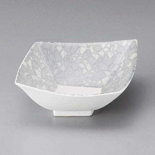 13009-070 強化銀彩モザイク菱型小鉢|業務用食器カタログ陶里30号