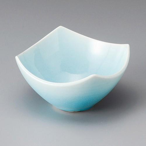 13013-180 湖水青白四方小鉢|業務用食器カタログ陶里30号