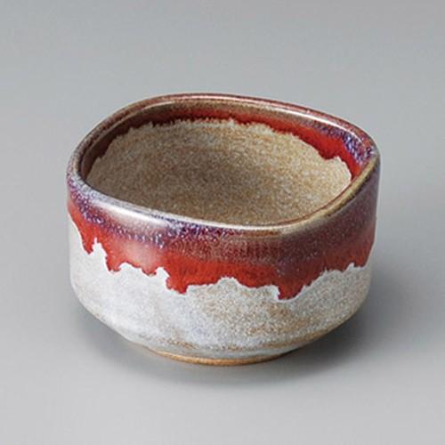 13017-100 辰砂角小鉢|業務用食器カタログ陶里30号