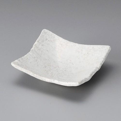 13022-320 岩白吹木目角鉢|業務用食器カタログ陶里30号