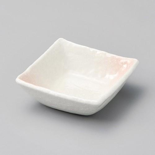 13128-300 桜吹ピンク3.8丼正角|業務用食器カタログ陶里30号