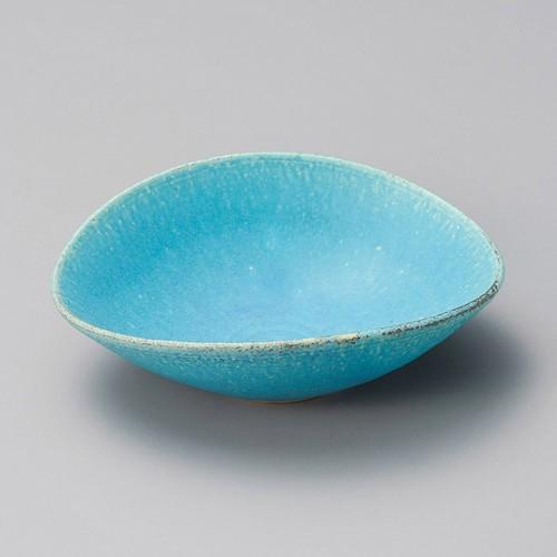 13201-430 トルコブルー楕円鉢|業務用食器カタログ陶里30号