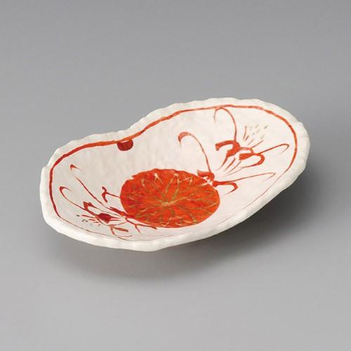 13205-220 志野釉双葉小鉢|業務用食器カタログ陶里30号