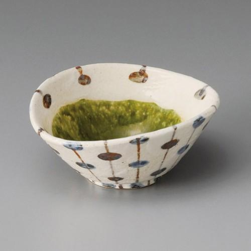 13211-120 粉引内織部たわみ小鉢|業務用食器カタログ陶里30号