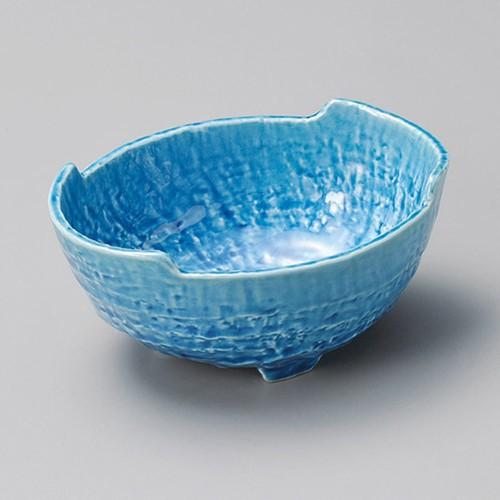 13221-460 トルコ釉砂目楕円4.5小鉢|業務用食器カタログ陶里30号