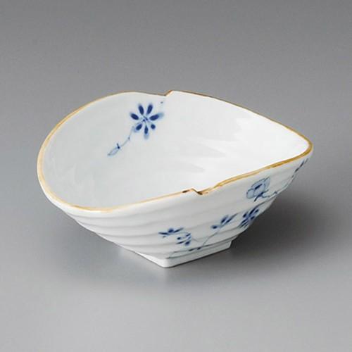 13223-180 染付花絵ダ円小鉢|業務用食器カタログ陶里30号