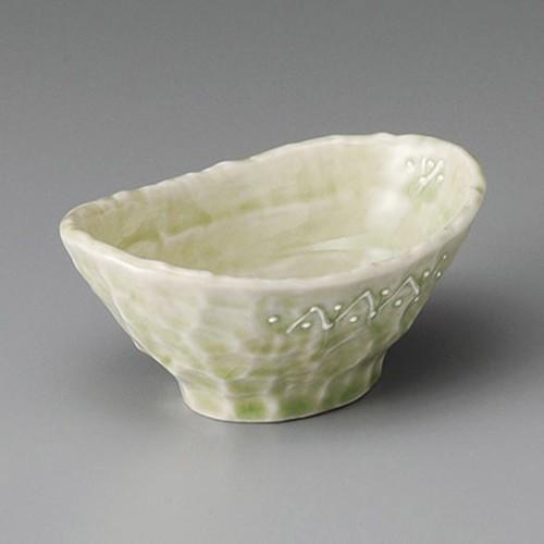 13224-030 一珍ヒワ釉船小鉢|業務用食器カタログ陶里30号