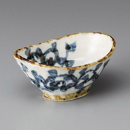 13225-180 タコ唐草舟小鉢|業務用食器カタログ陶里30号