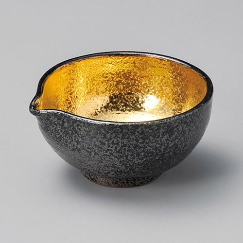 13402-460 黒ちらし内金塗4.0片口小鉢|業務用食器カタログ陶里30号