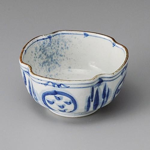 13408-120 染付隅切角小鉢|業務用食器カタログ陶里30号