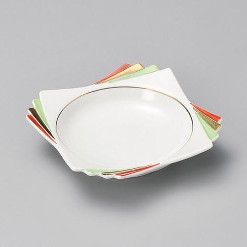 13423-120 三色千代折角小鉢|業務用食器カタログ陶里30号