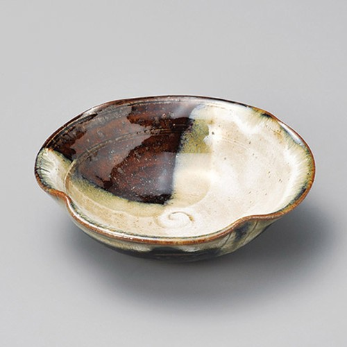 13425-120 唐津段付四押し小鉢|業務用食器カタログ陶里30号
