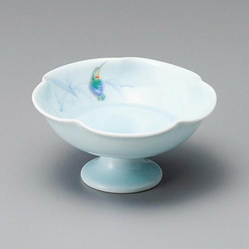 14005-330 青瓷かわせみ高台小鉢|業務用食器カタログ陶里30号