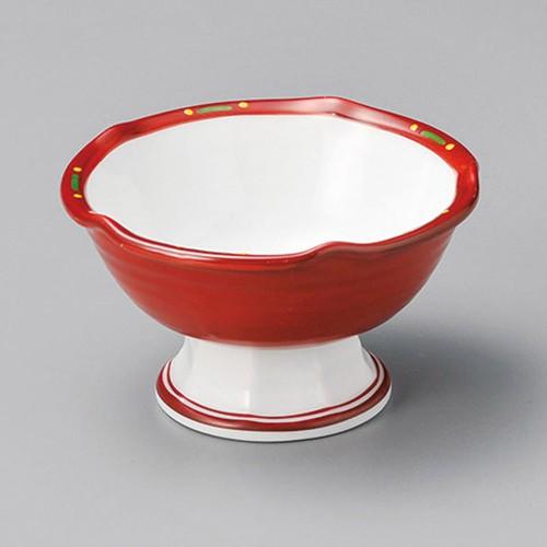 14009-120 朱巻八坂高台4.0小鉢|業務用食器カタログ陶里30号