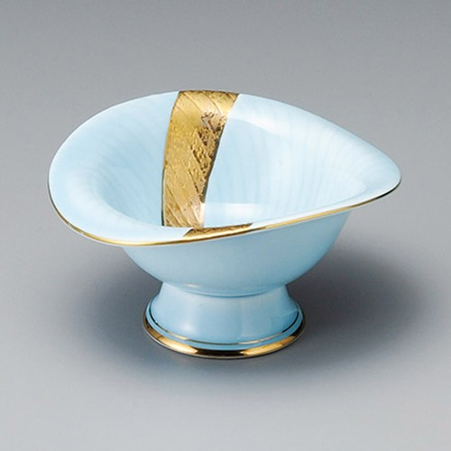 14013-180 青白金彩流し小鉢|業務用食器カタログ陶里30号