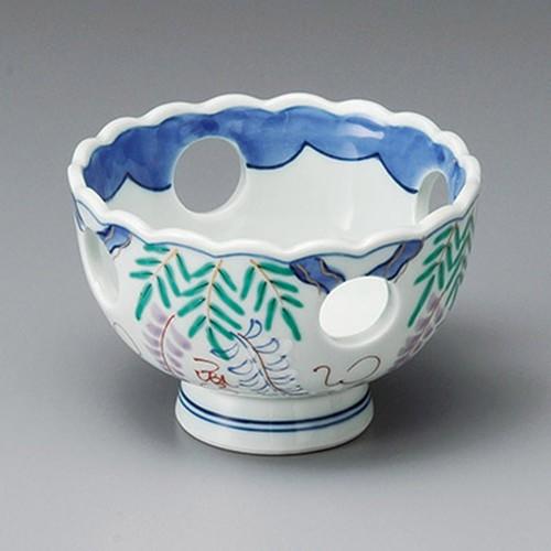 14019-180 藤の花小鉢|業務用食器カタログ陶里30号