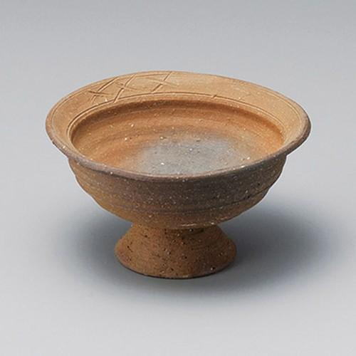 14023-430 炭化窯変4.3高台小鉢|業務用食器カタログ陶里30号