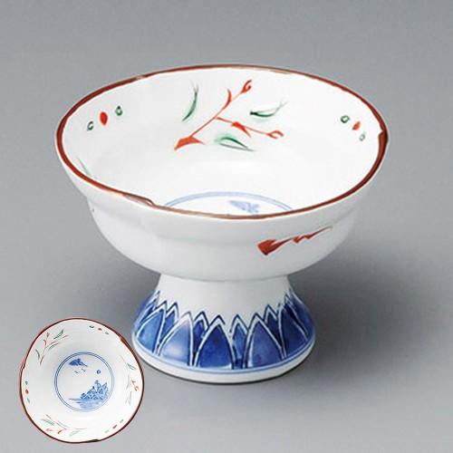 14024-080 赤絵京山水3.3小鉢|業務用食器カタログ陶里30号