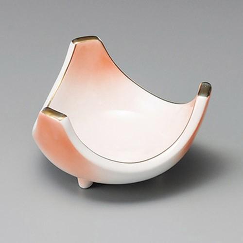 14323-180 ピンク三ツ切4.0小鉢 業務用食器カタログ陶里30号